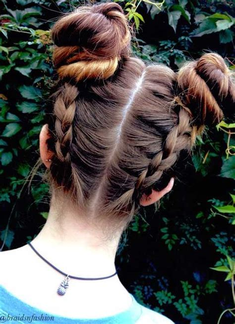 different bun styles for hair different two bun hairstyles hairstyles 2017 2018 2356