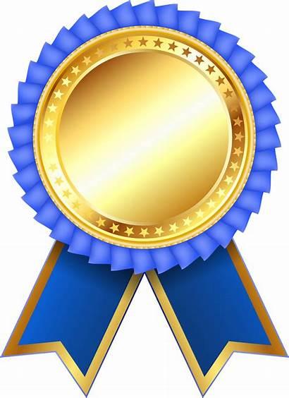 Medal Prize Award Clipart Transparent Rosette Ribbon