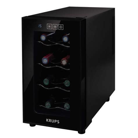 krups cave 224 vin de service 8 bouteilles noir pas cher achat vente cave 224 vin
