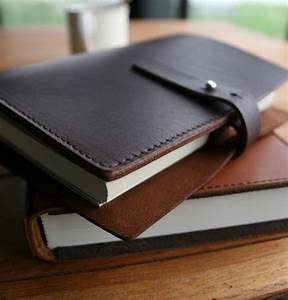 Carnet Page Blanche : carnet de note en cuir avec fermoir m tallique ~ Teatrodelosmanantiales.com Idées de Décoration