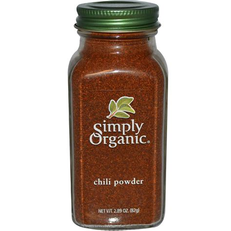 what is chili powder simply organic chili powder 2 89 oz 82 g iherb com