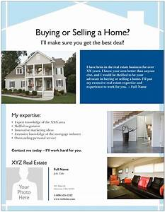 Real estate flyer templates the best free paid list for Vistaprint flyer templates