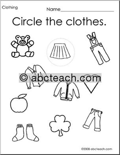 15 best images of winter clothing worksheet winter