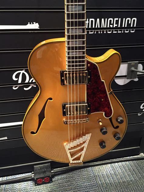 dangelico master builder electric guitars  throbak paf  mini humbucker pickups throbak