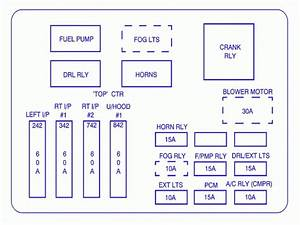 Chevy Tracker Fuse Box Diagram