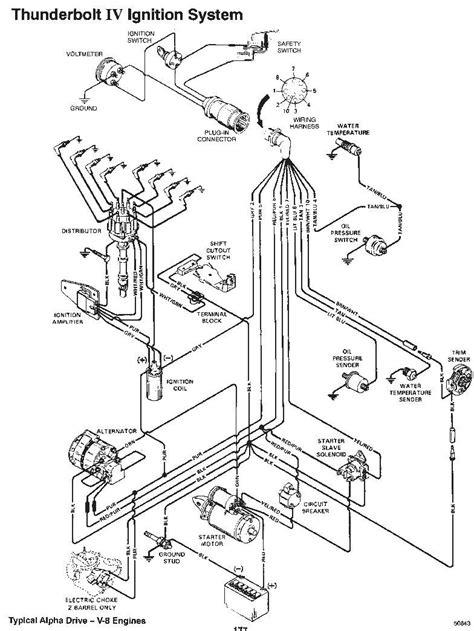 1987 Mercruiser 350 Ignition Wiring Diagram