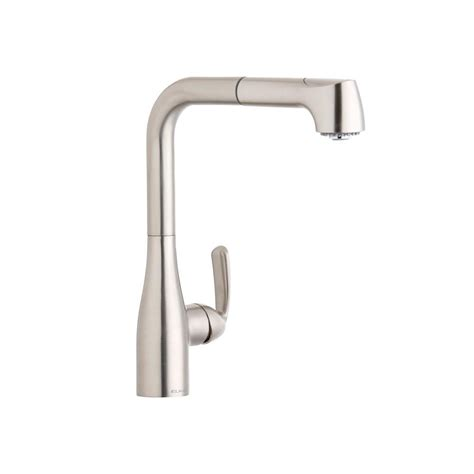 elkay kitchen faucets elkay gourmet single handle pull out sprayer kitchen