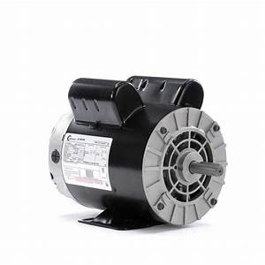 2 Hp 3450 Rpm Air Compressor Electric Motor 115  230 Volts
