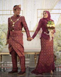 inspirasi baju kahwin songket  confirm  berkenan pesona pengantin