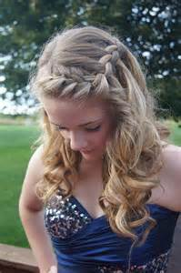 Homecoming Dance Hairstyles for Long Hair