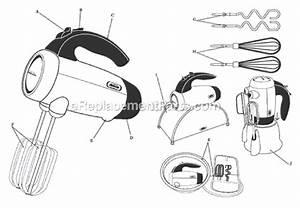 Sunbeam 2551 Parts List And Diagram   Ereplacementparts Com