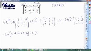 Determinante Berechnen 4x4 : desarrollar determinante 4x4 sarrus matematicas 2 bachillerato ainte youtube ~ Themetempest.com Abrechnung