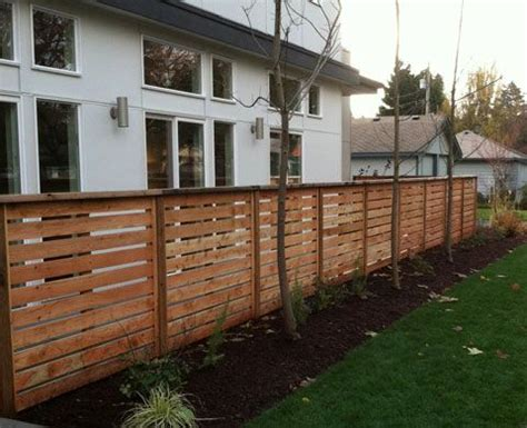 front privacy fence front yard privacy fence landscaping exteriors pinterest
