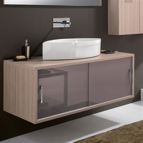 Vanité Moderne by Maple Contemporary Wall Mount Bathroom Vanity