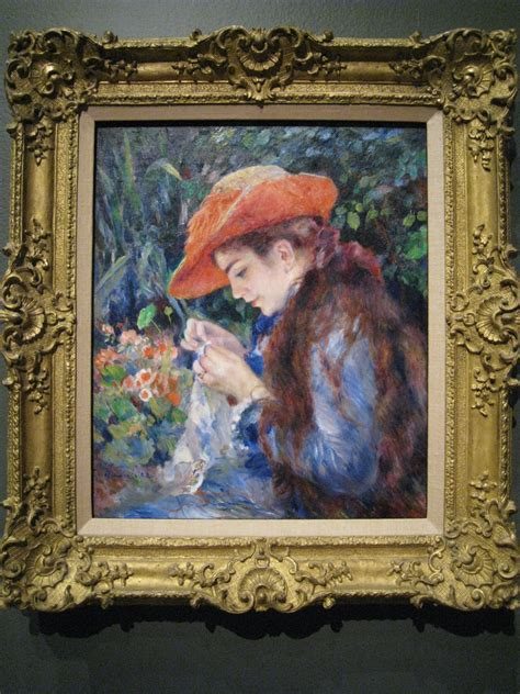 Art Frame Impressionism Paintings From The Clark At Mmfa