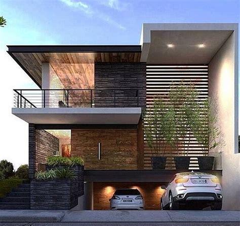 desain rumah minimalis modern  lantai