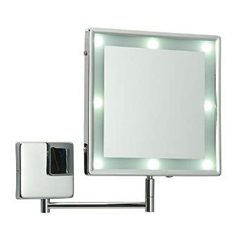 how to install makeup mirror with lights wall mounted