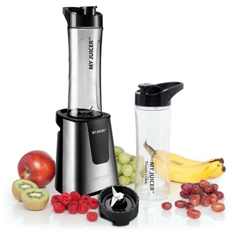 smoothie blender juicer personal travel bottle sports chef extra ii blenders stainless ergo amazon watt steel fruit juice smoothies juicers