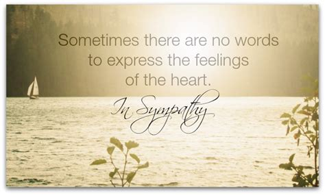 words of sympathy sympathy e cards