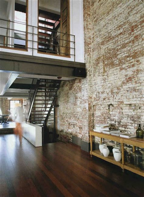 brick interior 69 cool interiors with exposed brick walls digsdigs