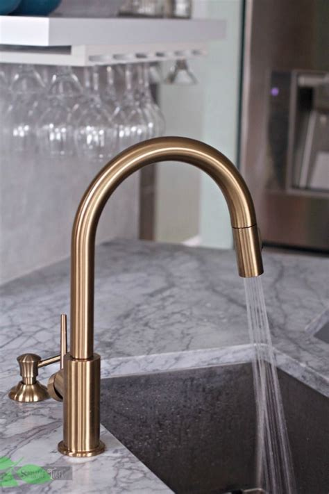 gold kitchen faucet delta gold kitchen faucet spray from spinach tiger copper kitchen accents pinterest gold