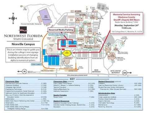 Map Of Northwest Florida.College Map Northwest Florida State