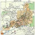 Santa Fe New Mexico Street Map 3570500