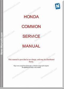 Honda Common Service Manual 1