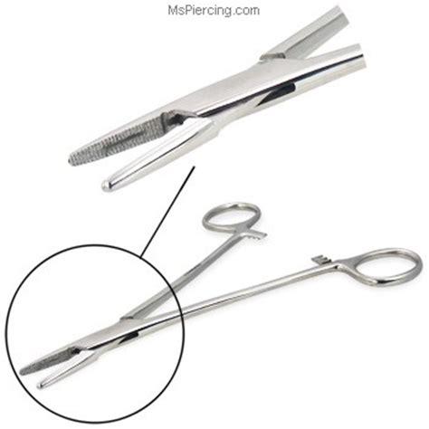 Needle Forceps (Needle Holder) at MsPiercing.com