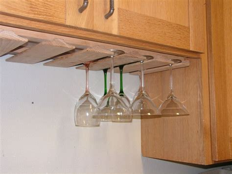 Wine Glass Racks-stemware Holder Kitchen Bar Oak Wood New
