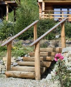 escalier bois jardin exterieur escalier de jardin 224 faire soi m 234 me en 49 id 233 es de conception