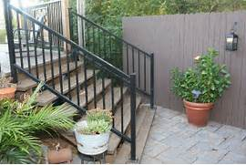 Outdoor Metal Handrails For Stairs by Iron Handrails TX Gates Smokers Fabrication Marshall Longview S