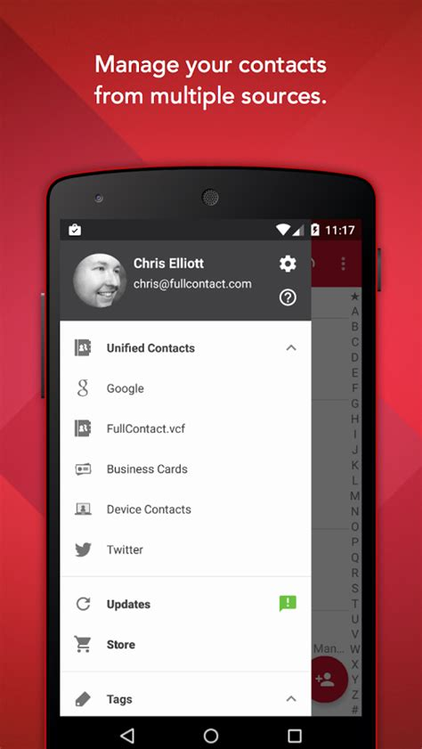address book for android fullcontact address book android apps on play