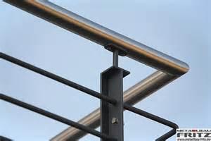balkon handlauf balkongeländer 30 09 schlosserei metallbau fritz