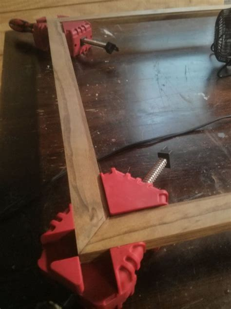diy picture framecorner clamps  httpwwwharborfreightcomcorner  vise clamp