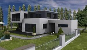 Haus Bungalow Modern : bauhaus 178 zwei balkone und durchdachter grundriss haus grundriss ~ Markanthonyermac.com Haus und Dekorationen
