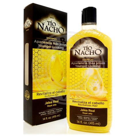 scrubs for tio nacho royal jelly shampoo