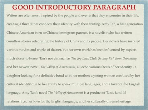 How To Write An Effective Intro Paragraph
