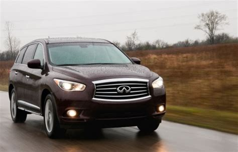 2013 Infiniti Jx35  7 Seater Luxury Sport Utility Vehicle