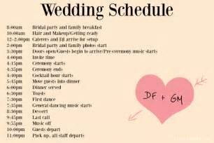 wedding timeline template wedding day timeline template tristarhomecareinc