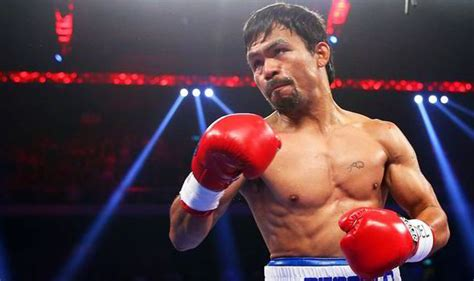 manny pacquiao facing disciplinary action  shoulder