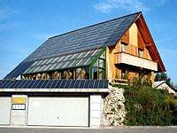 Das 100 Prozent Sonnenhaus by Erstes 100 Sonnenhaus Europas Sonnenhaus Institut E V