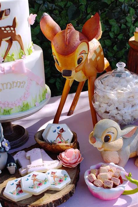 karas party ideas bambi inspired woodland birthday party