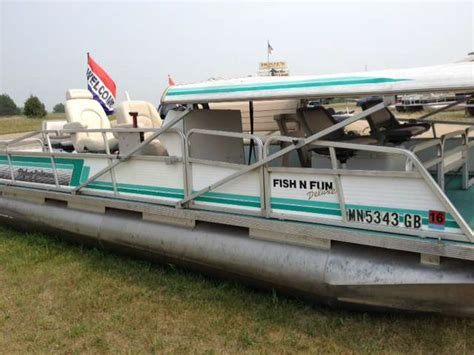 Deck Pontoon Boat Craigslist by Pontoon Deck Boats For Sale In Minneapolis Used Boats