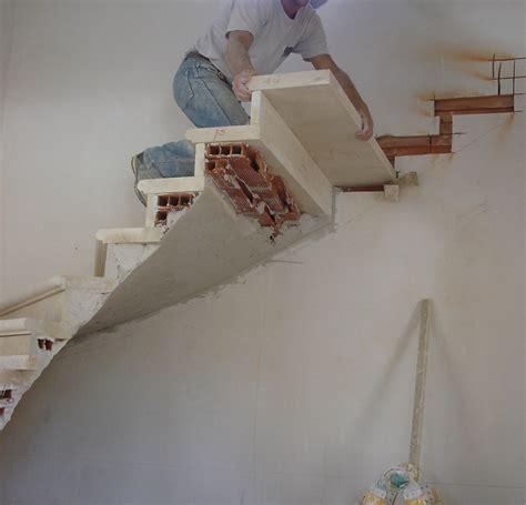 escalier sur vo 251 te sarrasine en pierre pose installation