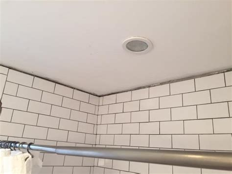 gap between tile and ceiling how best to fill