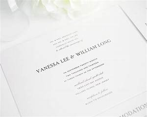 traditional wedding invitations in black and white With traditional wedding invitations font