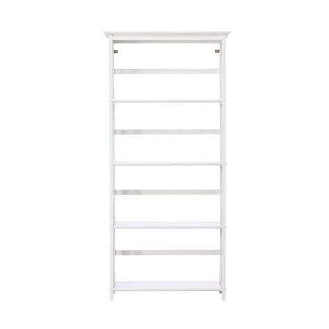 Open Bookcase White by Home Decorators Collection Montego White Open Bookcase