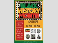 Black History ~ Calendar Connections 1+1+1=1