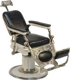 592 early quot theo a koch s quot salesman sle barber chair lot 592